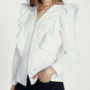 Cotton withe blouse